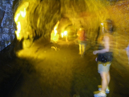 Inside the Lava tube